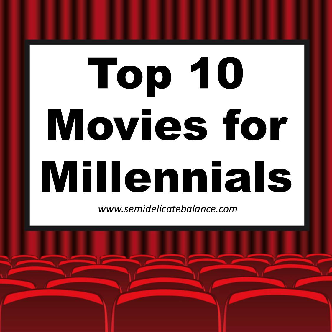 top 10 movies for millennials