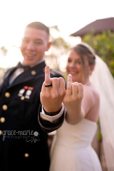 military wedding military wedding - Military Wedding Rings