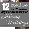 save money for military wedding