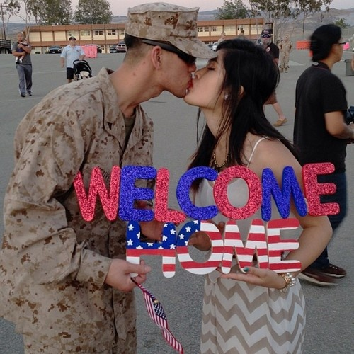 101+ Awesome Ideas For Military Welcome Home Signs