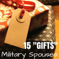 15 gifts military spouses want for christmas