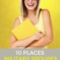 10 Places Military Spouses Can Find Money for College