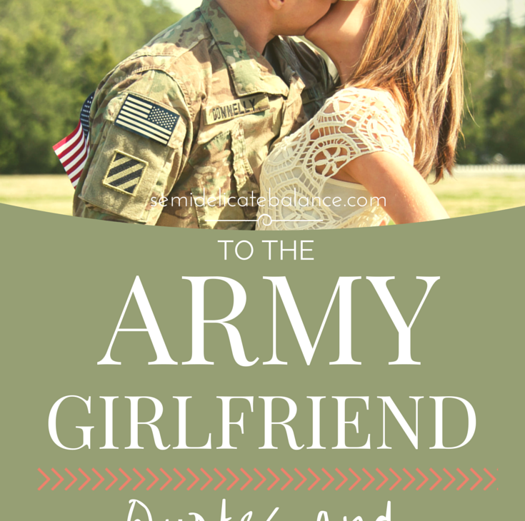 to the army girlfriend quote and advice