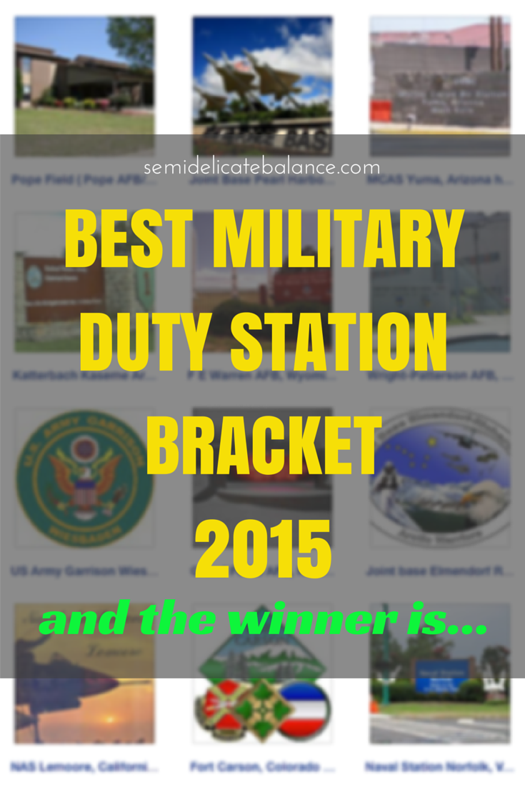 best military duty station bracket 2015