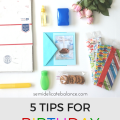5 TIPS FOR BIRTHDAY CARE PACKAGES