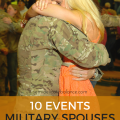 10 events military spouses should experience at least once