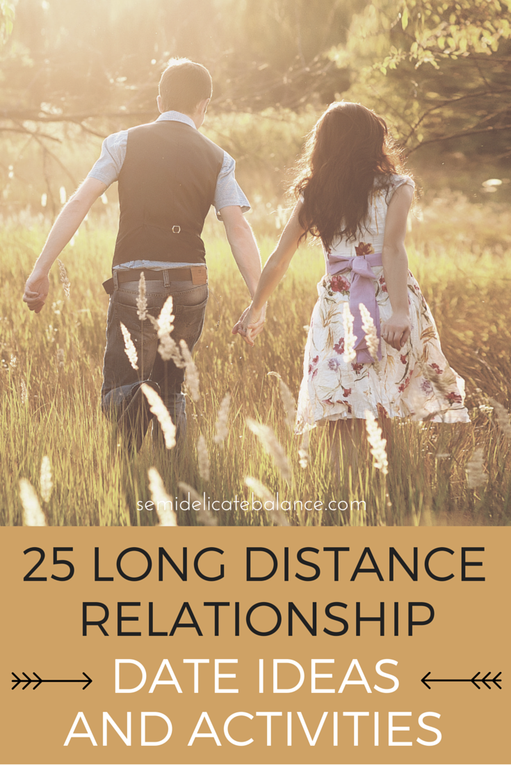 25 Long Distance Relationship Date Ideas And Activities