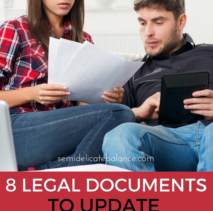 8 Legal Documents to Update Before Deployment