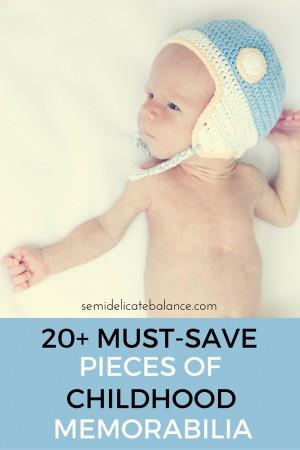20+ Must-Save Pieces of Childhood Memorabilia