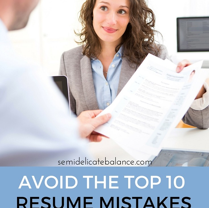 Top 10 Resume Mistakes that Military Spouses Make
