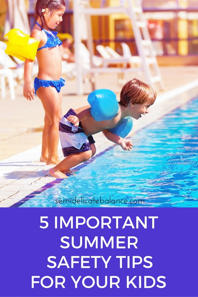 5 Important Skin Care Tips For Girls: 5 Important Summer Safety Tips For Kids