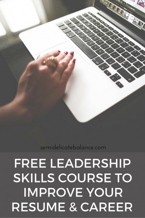 Free Leadership Skills Course to Help Boost Your Resume and Your Career