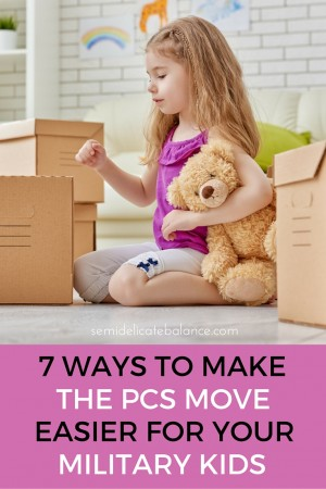 Make the PCS Move Easier for Your Military Kids