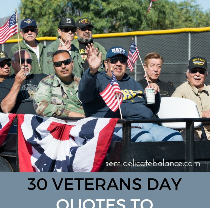30 Veterans Day Quotes to Salute Our Heroes