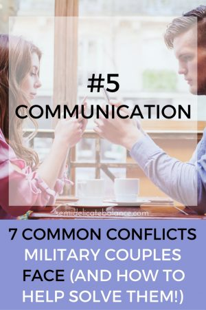 communication, military couples
