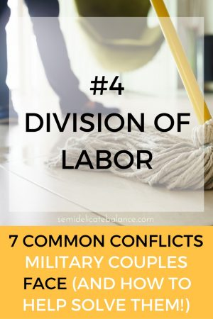 labor common conflict military couple