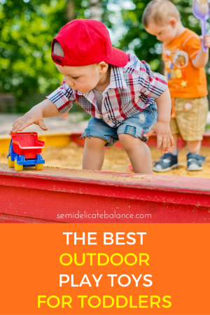 best outdoor play toys for toddlers