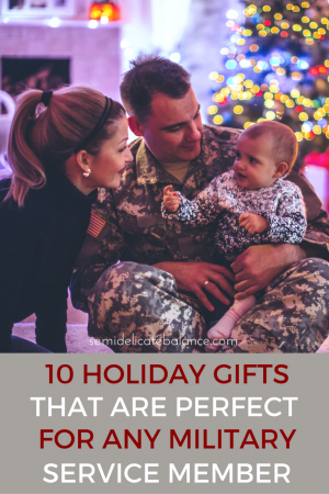 10 Holiday Gifts That Are Perfect for Any Military Service Member