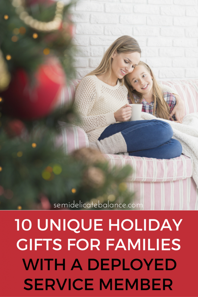 10 Unique Holiday Gifts for Military Families with a Deployed Service Member