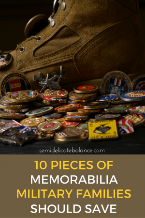 10 Pieces of Memorabilia Military Families Should Save