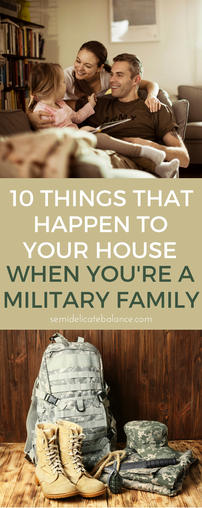 10 Things That Happen to Your House When You're a Military Family