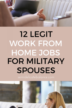 12 Legit Work From Home Jobs For Military Spouses, How to make real money working from home