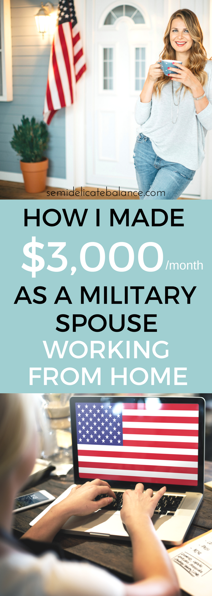 How I Made $3000 As A Military Spouse Working From Home, Legit ways to make money as a stay at home military wife