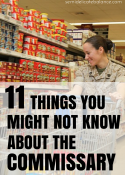11 Things You Might Not Know About the Commissary