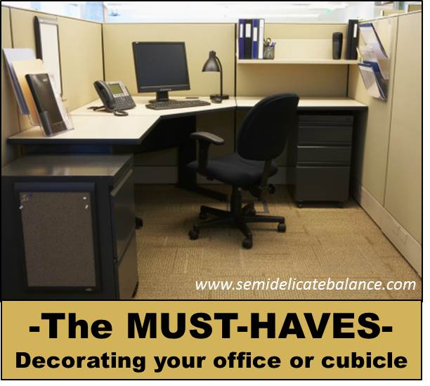 Cubicle Décor Ideas To Make Your Home Office Pop: Must-haves In Office & Cubicle Decor