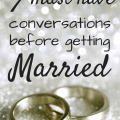conversations before getting married