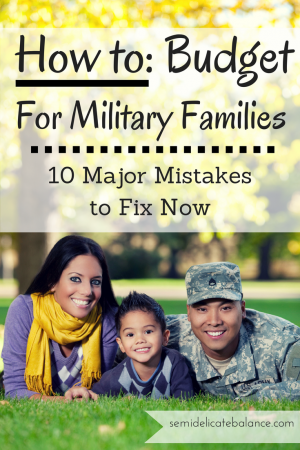 Budget for Military Families