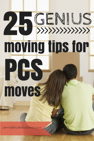 PCS Moving Tips