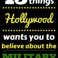15 Things Hollywood Military
