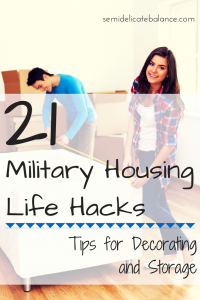 21 military house hacks