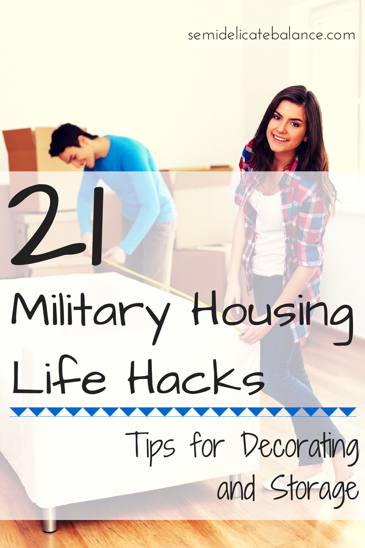5 Cake Decorating Hacks : 21 Military Housing Hacks: Tips for Decorating and Storage