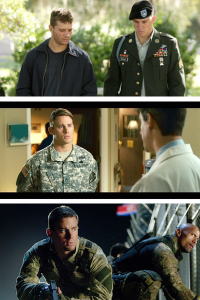 Channing Tatum, Military