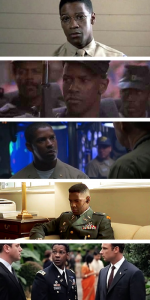 Denzel Washington, Military
