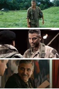 George Clooney, Military