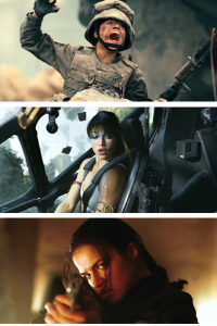 Michelle Rodriguez, Military