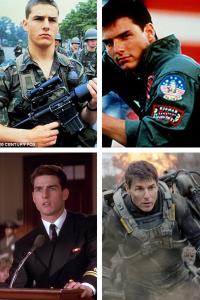 Tom Cruise, Military