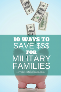 save money for military families
