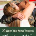 20 Ways You Know You're a Marine Wife