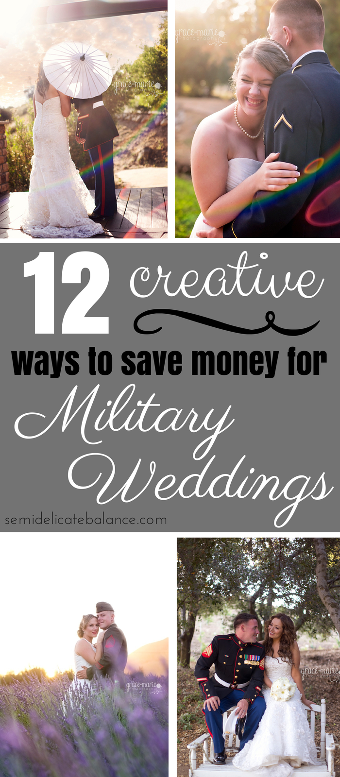 12 creative ways to save money on a military wedding for Ways to save for a house