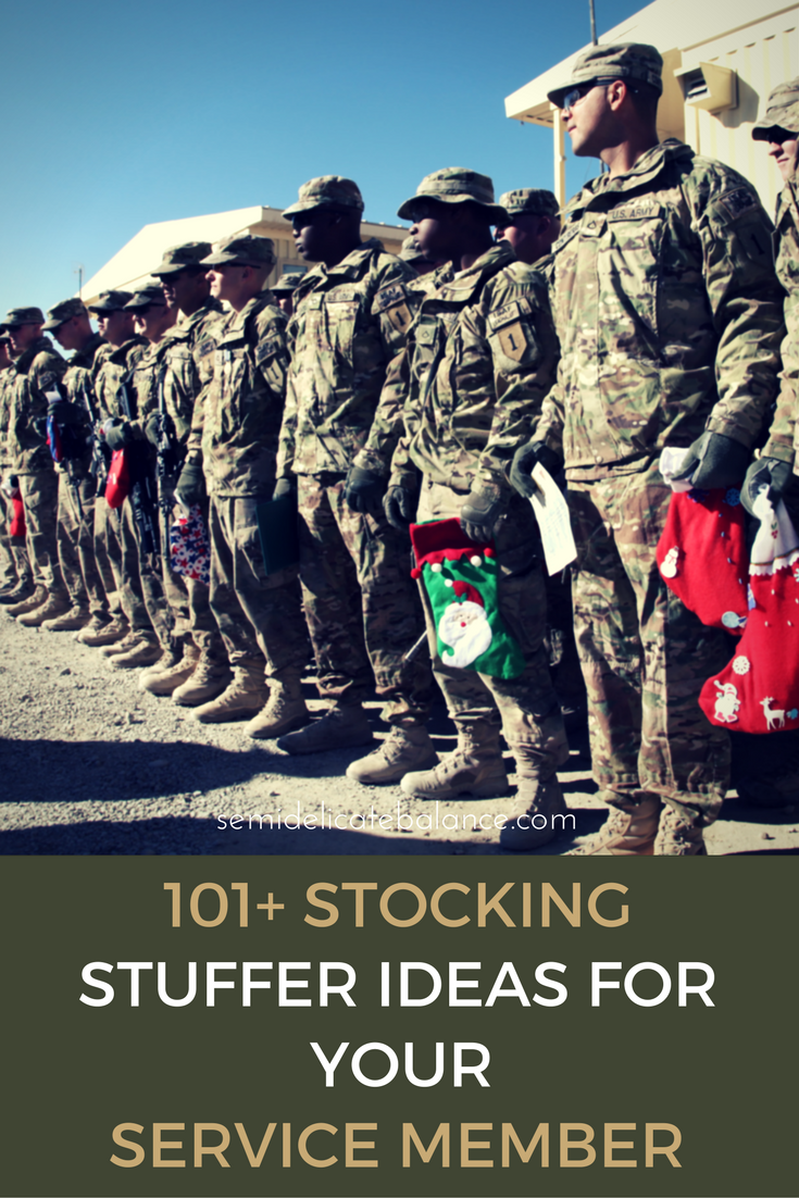 101 Best Stocking Stuffers Ideas For Your Service Member