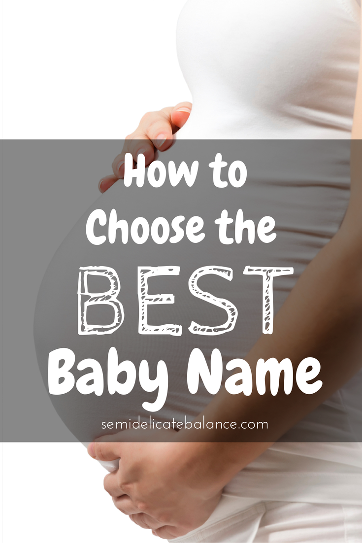 How to choose a baby name 91