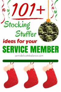 stocking stuffer, military