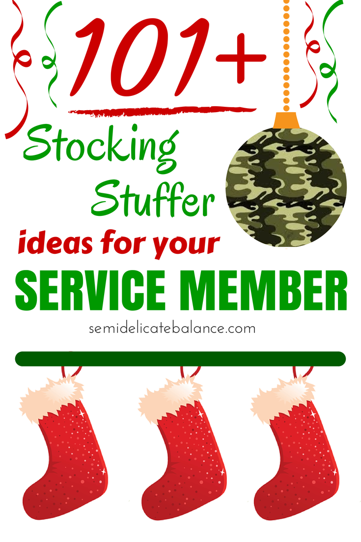 101 Stocking Stuffers Ideas For Your Service Member