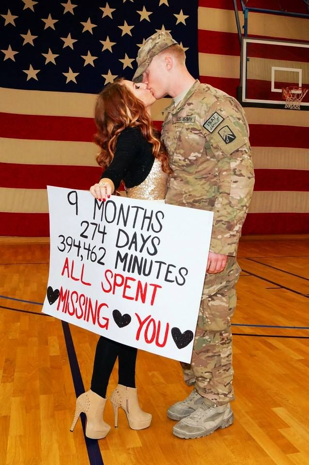 101 awesome ideas for military welcome home signs for Welcome home troops decorations