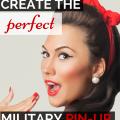 military pinup