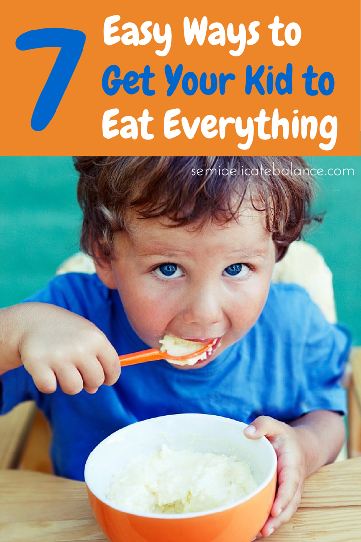 How To Get Your Toddler To Eat Solid Foods